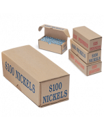Nickels Coin Storage and Shipping Box