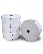"Thermal paper rolls – 10"" diameter"