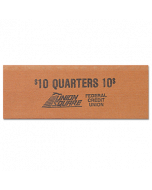 Quarters Flat Tubular Coin Wrappers