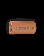 Quarters Half-size Shotgun Tubular Coin Wrappers