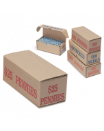 Pennies Coin Storage and Shipping Box