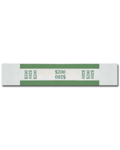 $200 Color Bar Design Straps with no Denomination