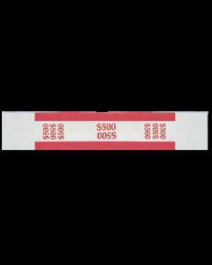 $500 Color Bar Design Straps with no Denomination