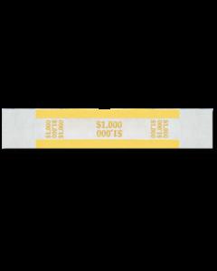 $1000 Color Bar Design Straps with no Denomination