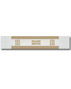 $10M Color Bar Design Straps with no Denomination
