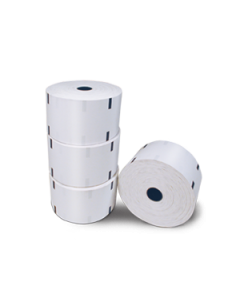 "Thermal paper rolls – 6"" diameter"