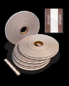 $50 Denomination Strapper Paper - 25mm