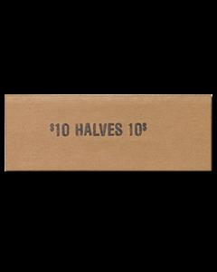 Half Dollars Flat Tubular Coin Wrappers