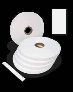 Plain White Strapper Paper - 25mm