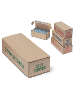 Dimes Coin Storage and Shipping Box