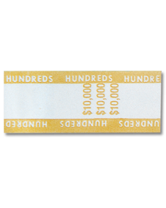 $10M Pre-Glued C Band with Denomination