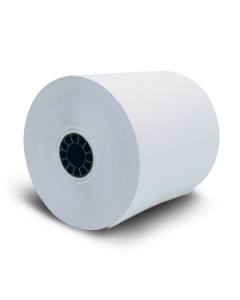 """Two-Ply Impact Printer Receipt Paper - 3"""" wide"""