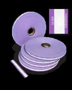 $20 Denomination Strapper Paper - 25mm